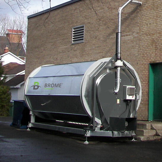 Compostage_epicerie_Metro_Lussier_Brome_compost_Composting_grocery_store