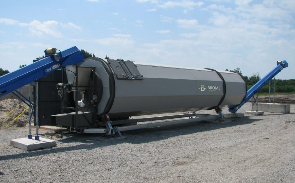 BROME modular composting system adapted to your specific needs