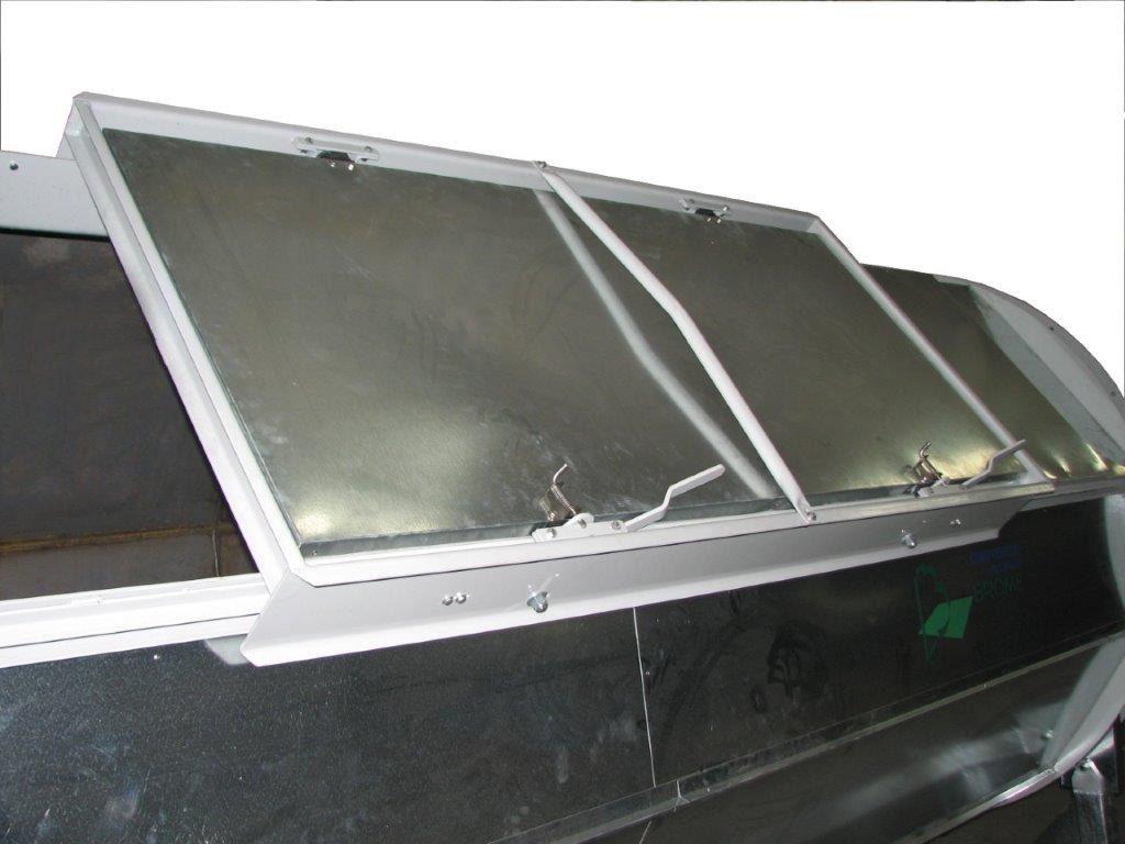 Porte coulissante pour composteur BROME. Sliding door for BROME composter